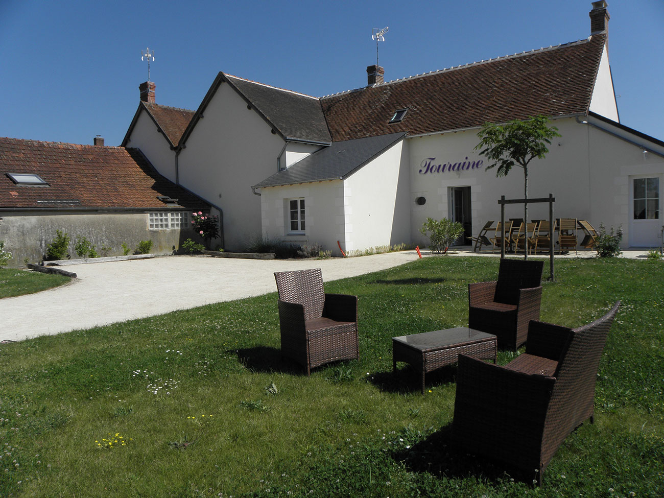 Gite Touraine Les 3 Lys 4 étoiles chatillon sur cher proche beauval saint aignan centre val de loire châteaux de la loire